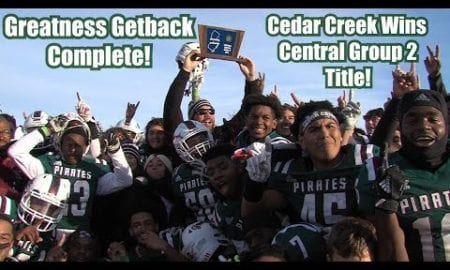 JSZ Report: Cedar Creek 31 Camden 23 | Group 2 Central Final | Louie Barrios 2 TDs