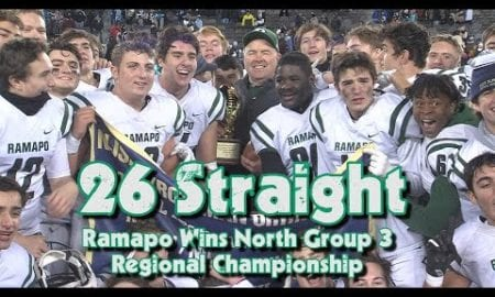 JSZ Report: Ramapo 38 Parsippany Hills 21 | North Group 3 Championship | 26 Straight Wins for Ramapo