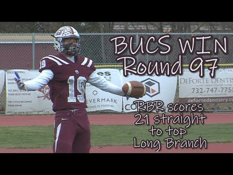 JSZ Report: Red Bank Regional 21 Long Branch 8 | 97th Thanksgiving Game | J. Chamberlain 2 TD passes