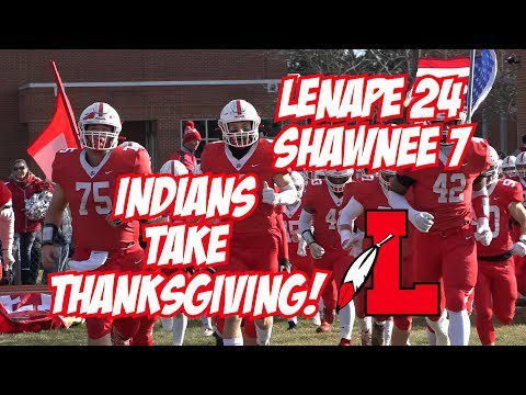 JSZ Report: Lenape 24 Shawnee 7 | Thanksgiving Football Highlights