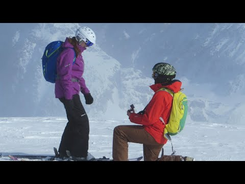 Travel: A Surprise Proposal on a Heli-Skiing Trip – Travel Channel