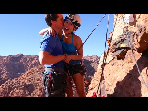 Travel: This Adventurous Couple Got Engaged While Rock Climbing – Travel Channel