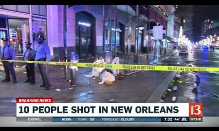 10 People Shot in New Orleans
