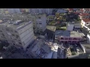 AP: Drone footage of earthquake damage in Durres, Albania