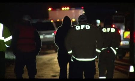 AP: Search for children after truck swept away