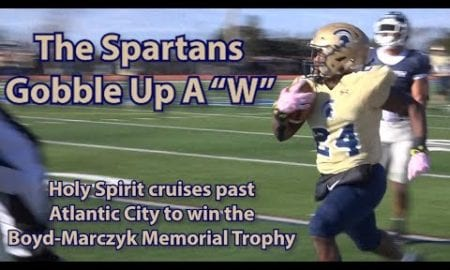JSZ Report: Holy Spirit 27 Atlantic City 0 | Thanksgiving Week Football | Gray 3 Rush TDs