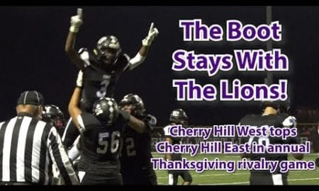 JSZ Report: Cherry Hill West 19 Cherry Hill East 7 | Thanksgiving Week Football | Jean-Baptiste 2 Total TDs