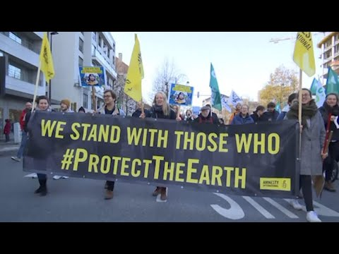 AP: Global climate protests ahead of Madrid meeting