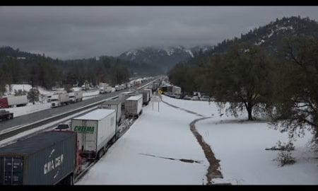 AP: California highway reopens after major snow storm