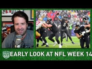 NFL Week 14 Picks, Early Look at Lines, Betting Advice I Pick Six Podcast