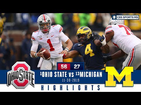 #2 Ohio State vs #10 Michigan Highlights: Buckeyes beat Wolverines for record run | CBS Sports HQ