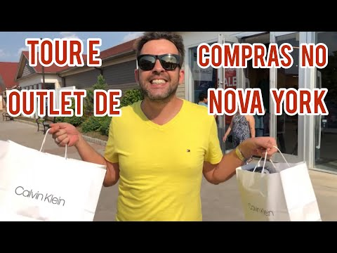 Tour e compras no Outlet de Nova York (New Jersey) parte 1, como é lá?