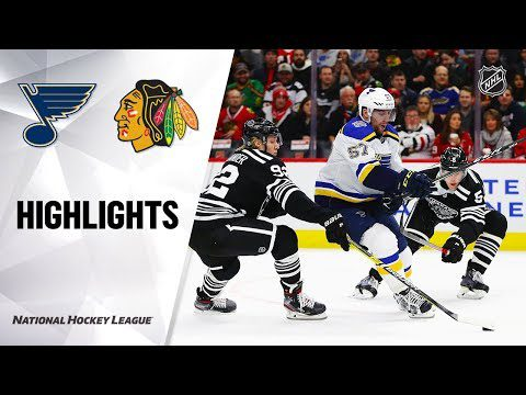 NHL Highlights | Blues @ Blackhawks 12/02/19