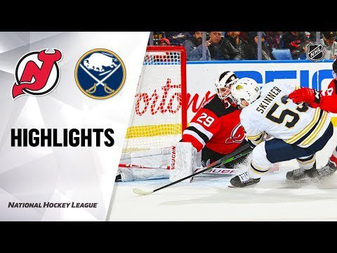 NHL Highlights | New Jersey Devils @ Buffalo Sabres 12/02/19