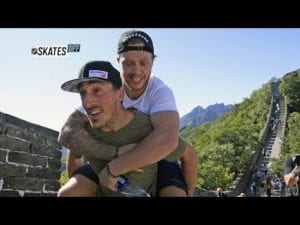 Skates Off: Brad Marchand and David Pastrnak
