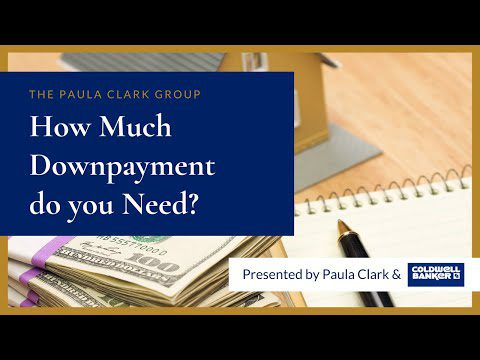 How Much Downpayment do you need to purchase a house in Bergen County New Jersey?