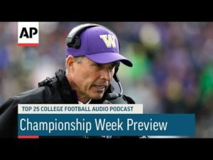AP: AP Top 25 Podcast: Championship Week Preview
