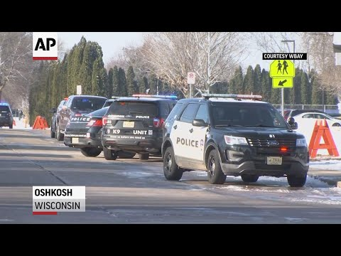 AP: Officer stabbed, student shot at Wisconsin school