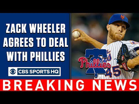 Breaking: Zack Wheeler agrees to 5-year deal with Phillies | CBS Sports HQ