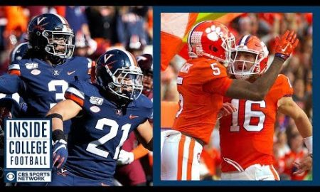 #23 Virginia at #3 Clemson Preview   Inside College Football