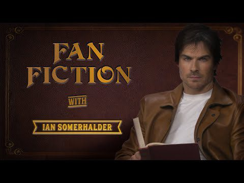 Entertainment: Ian Somerhalder Reads Thirsty Fan Fiction | V Wars | Netflix