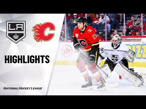 NHL Highlights | Kings @ Flames 12/07/19