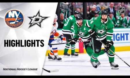 NHL Highlights | Islanders @ Stars 12/07/19