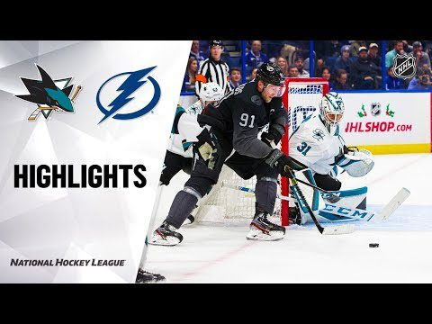 NHL Highlights | Sharks @ Lightning 12/07/19
