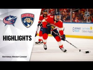 NHL Highlights | Blue Jackets @ Panthers 12/07/19