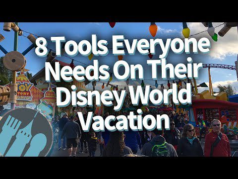 8 Tools Everyone Needs On Their Disney World Vacation