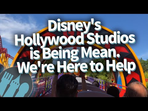 Disney's Hollywood Studios is Being Mean. We're Here to Help.
