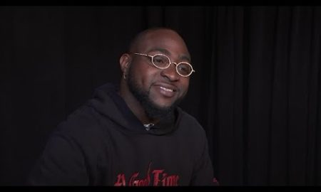AP: Davido wants the world to have 'A Good Time'