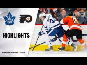 NHL Highlights | Maple Leafs @ Flyers 12/3/19