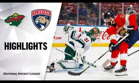 NHL Highlights | Wild @ Panthers 12/3/19