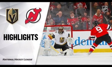 NHL Highlights | Golden Knights @ Devils 12/3/19