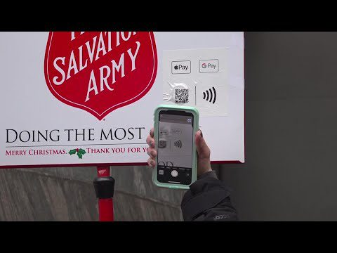 AP: No cash? Salvation Army now takes mobile donations