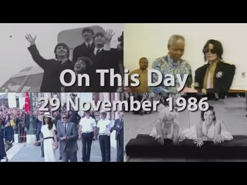 AP: On This Day: 29 November 1986