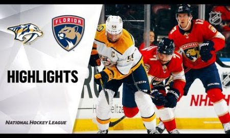 NHL Highlights | Predators @ Panthers 11/30/19