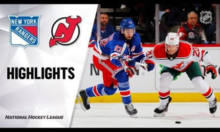 NHL Highlights | Rangers @ Devils 11/30/19
