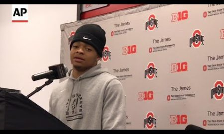 AP: Justin Fields ready for Big Ten title game