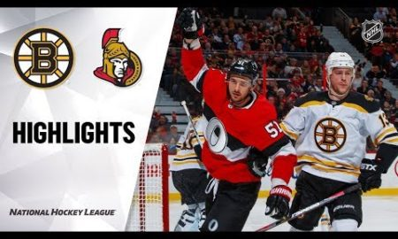 NHL Highlights | Bruins @ Senators 12/9/19