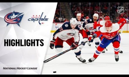NHL Highlights | Blue Jackets @ Capitals 12/9/19