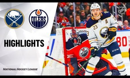 NHL Highlights | Sabres @ Oilers 12/08/19