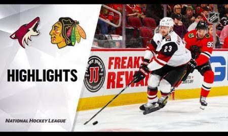 NHL Highlights | Coyotes @ Blackhawks 12/08/19