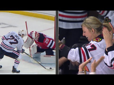 Blackhawks win shootout with moms in attendance