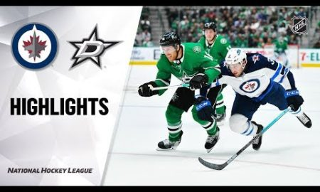 NHL Highlights | Jets @ Stars 12/5/19