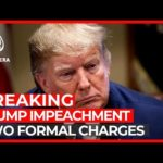 World News: Trump impeachment: Democrats introduce two formal charges