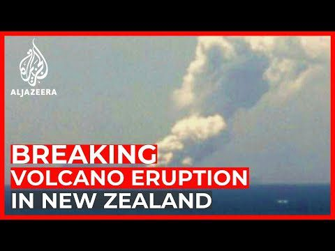 World News: Tourists injured after volcanic eruption in New Zealand