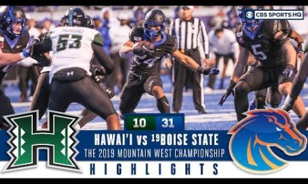 Mountain West Championship Highlights: #19 Boise State tops Hawai'i 31-10   CBS Sports HQ