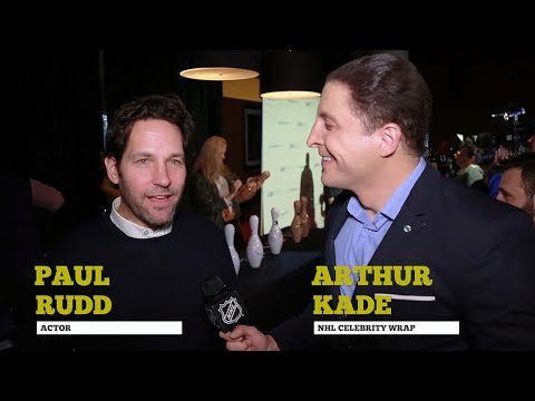 Paul Rudd creates an All-Avengers hockey team on NHL Celebrity Wrap